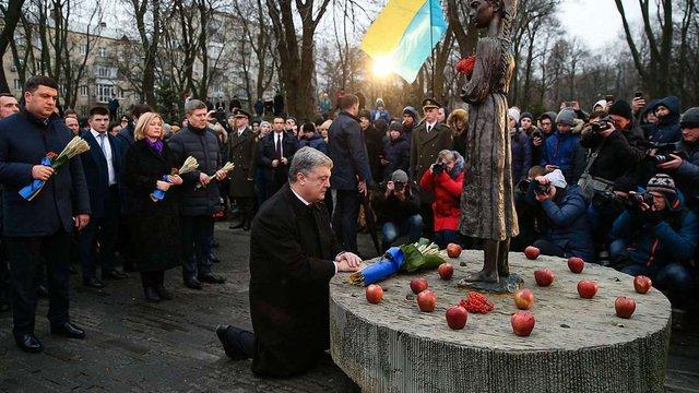 Порошенко закликав до введення в Україні відповідальності за невизнання Голодомору і Голокосту