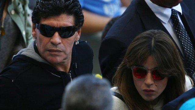 Дієго Марадона попросив заарештувати власну дочку