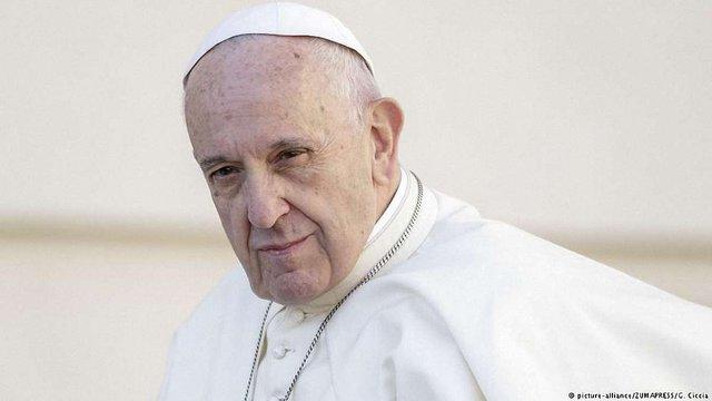 Папа Римський помолився за жертв Голодоморів в Україні