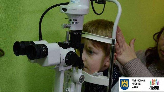 У Шевченківському районі Львова відкрили новий офтальмологічний кабінет