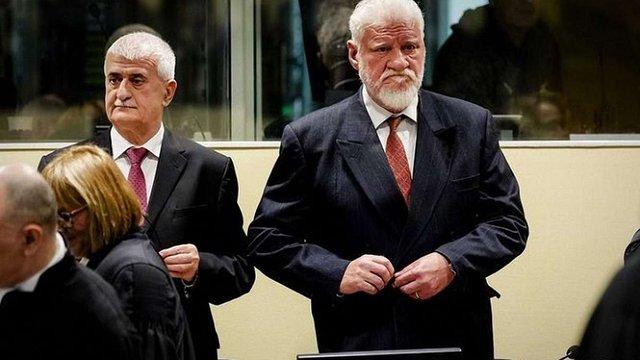 У Гаазькому трибуналі помер хорватський генерал, який прийняв отруту після оголошення вердикту