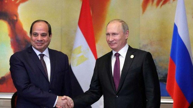 Росія схвалила проект угоди з Єгиптом про використання його баз для своїх військових літаків