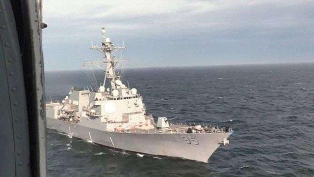 ВМС України провели спільні тренування з американським есмінцем у Чорному морі
