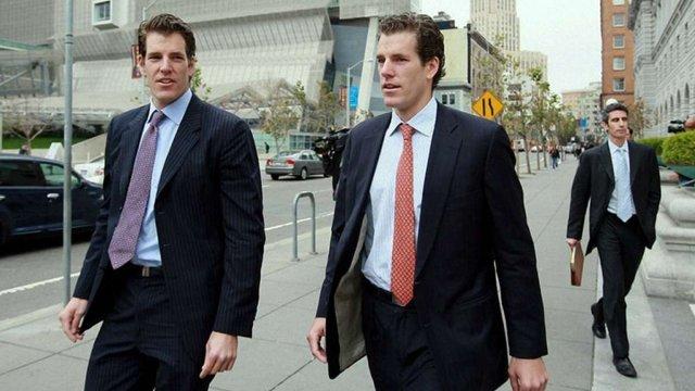 Першими у світі біткоїновими мільярдерами стали брати-близнюки зі США
