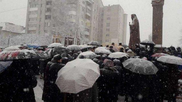 У Трускавці відкрили пам'ятник Йосифу Сліпому у повний зріст