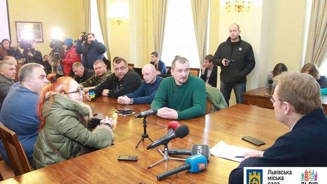Приймальню міського голови Львова розблокували