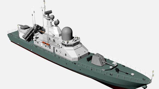 Перший український катер потрапить на озброєння ВМС ЗСУ в 2019 році