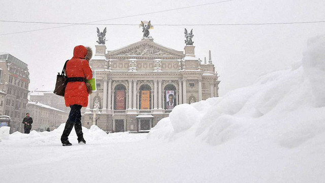 Україні на найближчі дні прогнозують мокрий сніг та ожеледь
