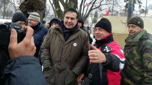 Проти Саакашвілі порушили справу через захоплення комітету Верховної Ради