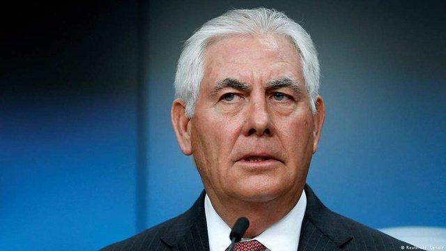 Держсекретар Тіллерсон назвав розміщення миротворців на Донбасі пріоритетом США