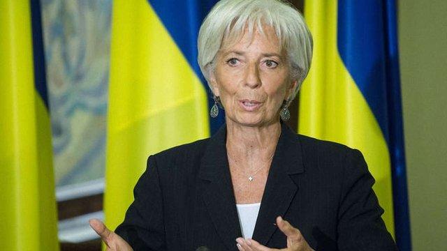 Голова МВФ закликала українську владу забезпечити незалежність НАБУ й САП