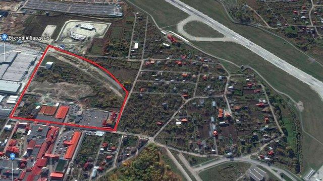 Біля аеропорту «Львів» зведуть конгрес-центр та кілька багатоповерхівок