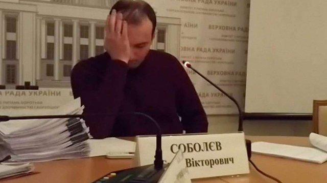 Питання про звільнення Соболєва включили до порядку денного Верховної Ради