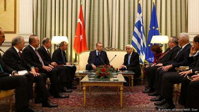 Президент Туреччини пред'явив територіальні претензії до Греції
