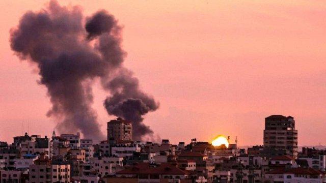 Ізраїльська армія завдала авіаударів по сектору Гази у відповідь на ракетний обстріл