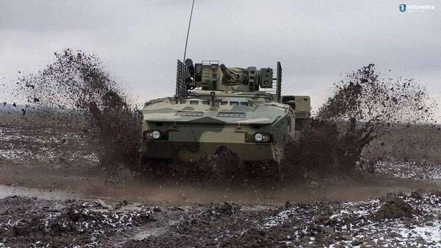 «Укроборонпром» показав відео випробувань БТР, створеного за стандартами НАТО