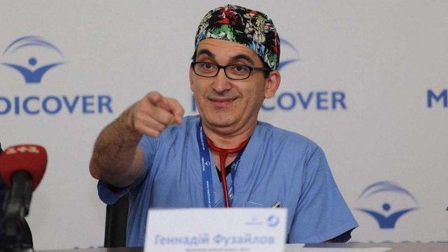 Американський лікар подарував Україні «штучної шкіри» на $1,6 млн