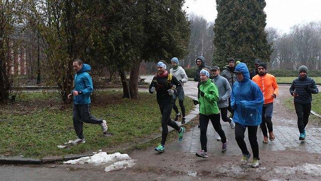 Львів'янин Валерій Шипунов пробіг перші 100 кілометрів марафону