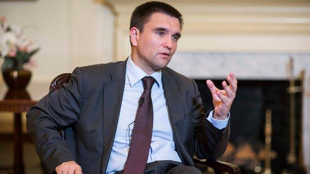 Голова МЗС заявив, що затримання Саакашвілі - це внутрішня справа України