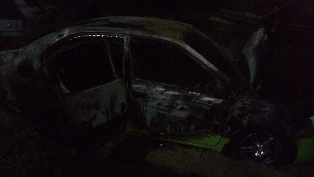 На Дніпропетровщині росіянину з проукраїнськими поглядами спалили автомобіль