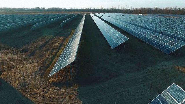 Навесні у Глинянах біля Львова відкриють сонячну електростанцію