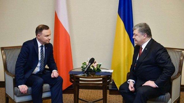 Порошенко і Дуда узгодили скорочення «чорних списків» та скасування мораторію на ексгумацію