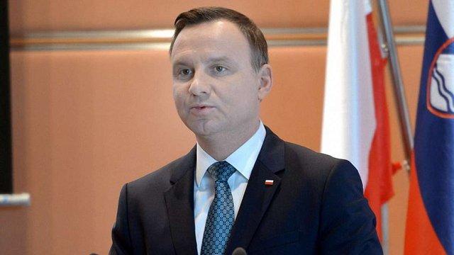 Анджей Дуда розповів, за яких умов Польща готова відновити українські пам'ятники