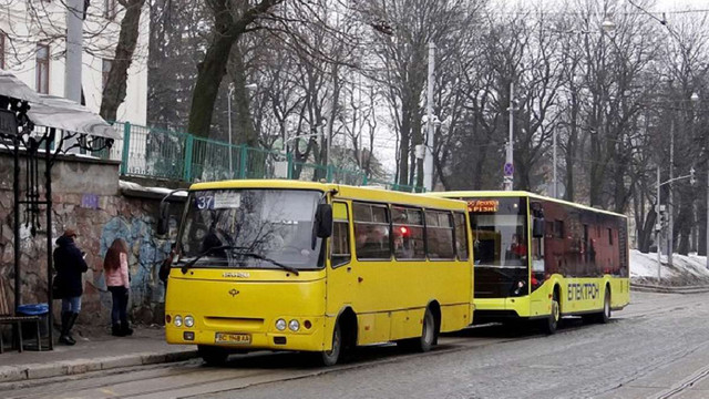 Вартість проїзду у львівських маршрутках зросла до 5 грн