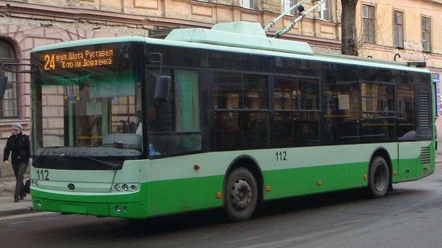 У Львові відновлять роботу тролейбусних маршрутів №5 та 24