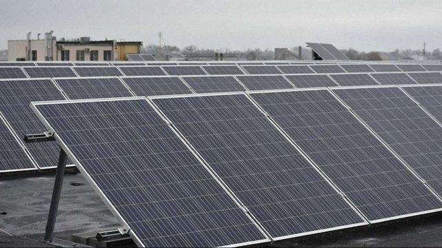 На Жовківщині спорудили дахову сонячну електростанцію за ₴30 млн