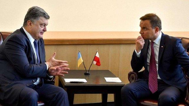 В адміністрації президента Польщі заявили про зниження напруги у відносинах з Україною