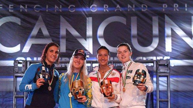 Українська шабліста Ольга Харлан виграла етап Кубка світу у Мексиці