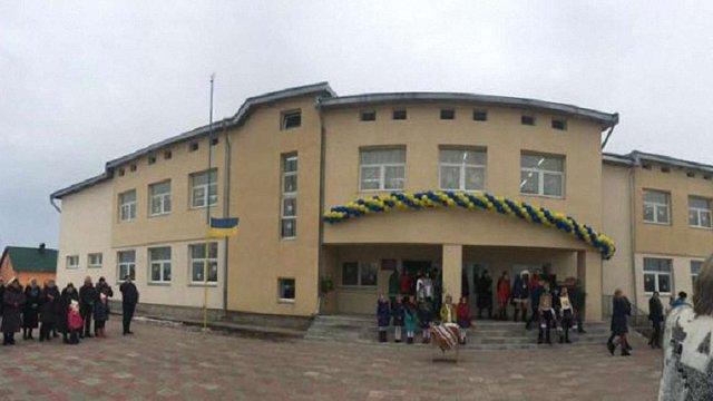 На Сокальщині відкрили нову школу для 150 учнів