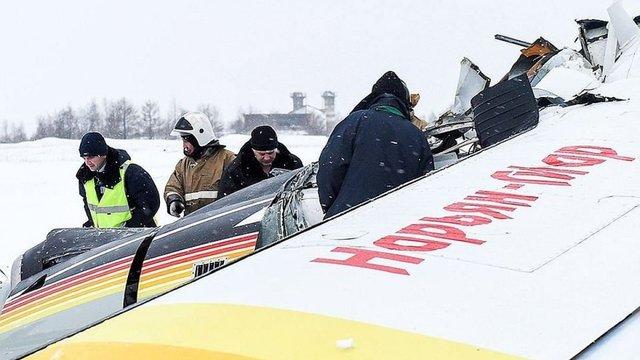 В Росії внаслідок падіння пасажирського літака загинули четверо людей