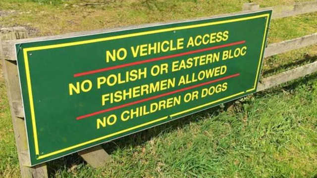 У Великобританії рибне господарство заборонило вхід полякам та вихідцям зі Східної Європи