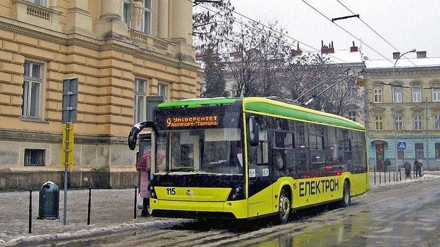 За три роки у Львові планують майже вдвічі збільшити кількість електротранспорту