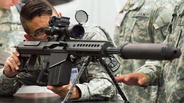 Білий дім схвалив продаж снайперських гвинтівок Україні