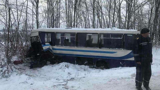Біля Дрогобича  у ДТП потрапили рейсовий автобус та вантажівка