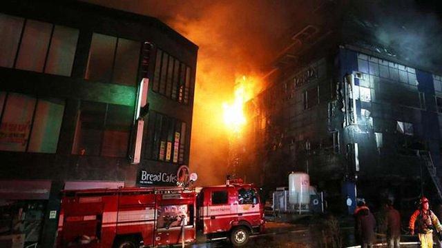 Внаслідок пожежі у фітнес-центрі в Кореї загинули 29 людей