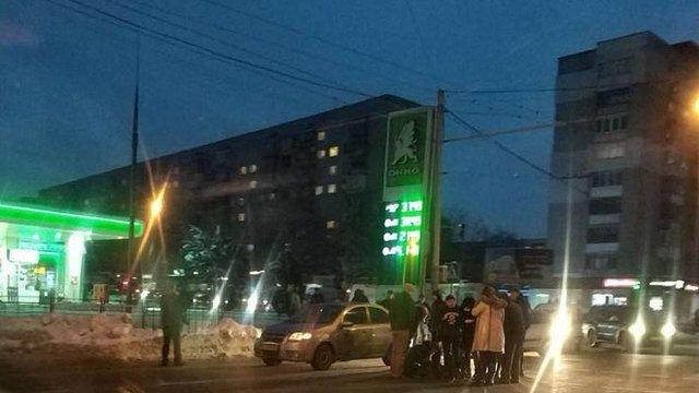 У Львові внаслідок ДТП 12-річний пішохід потрапив до лікарні