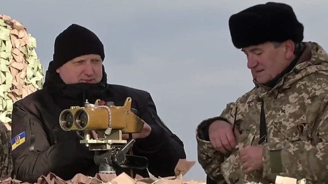 Турчинов показав відео випробувань українського ракетного комплексу «Вільха»