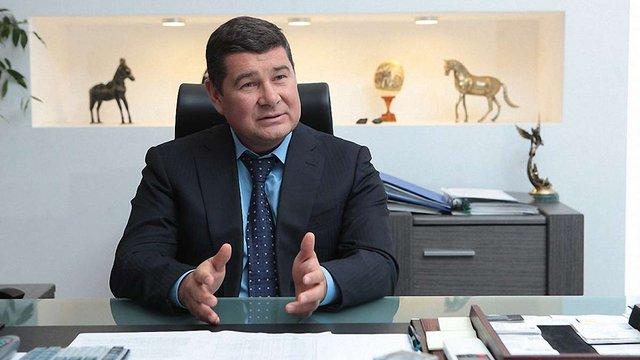 Заставне майно фірм Онищенка не покриває й десятої частини його податкового боргу
