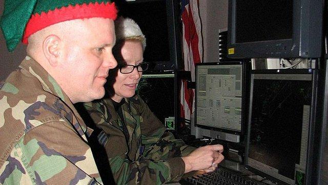Командування повітряно-космічної оборони США повідомило, що Санта Клаус вирушив у різдвяне турне