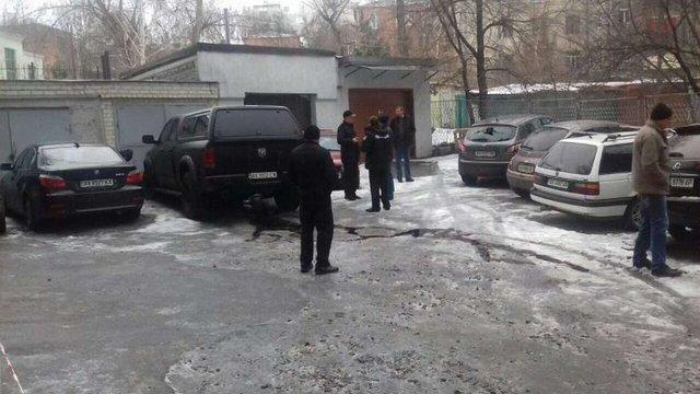 У центрі Харкова підірвали джип екс-заступника начальника місцевої поліції
