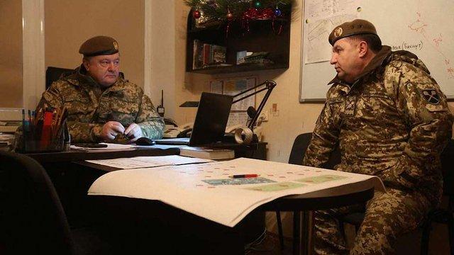 Порошенко прибув на Донбас зустрічати звільнених з полону українців