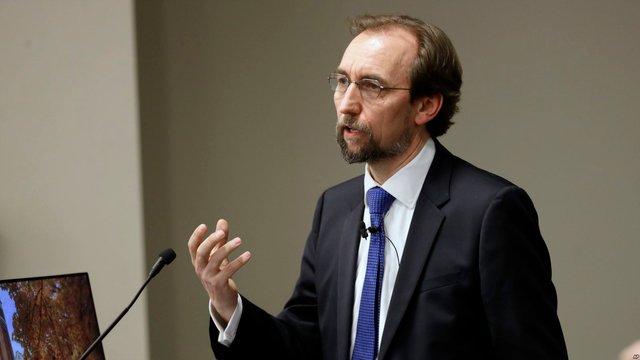 Комісар ООН з прав людини не піде на другий термін, бо «його голос не буде почуто»