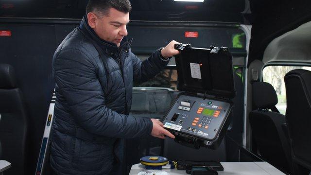 На Львівщині придбали три мобільні комплекси для зважування вантажівок