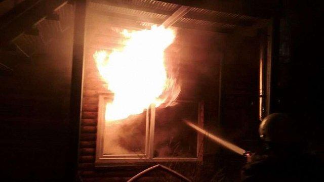 Поблизу Трускавця згоріла їдальня санаторію «Джерельний»