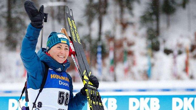Віта Семеренко виборола бронзу в гонці переслідування на етапі Кубка світу з біатлону
