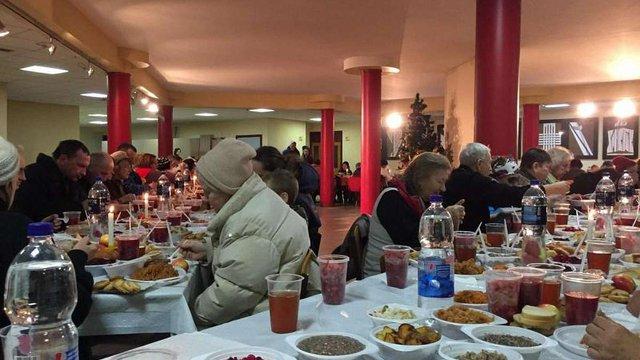 В УКУ влаштували Святвечір для 300 потребуючих львів'ян